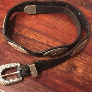 Justin vintage cowboy belt